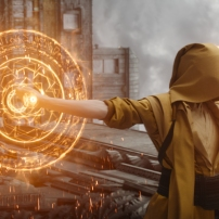 Marvel's DOCTOR STRANGE..The Ancient One (Tilda Swinton)..Photo Credit: Film Frame ..©2016 Marvel. All Rights Reserved.